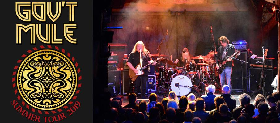 Govt Mule at The Bomb Factory
