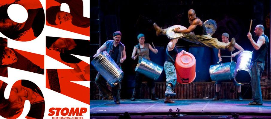 Stomp at Music Hall at Fair Park