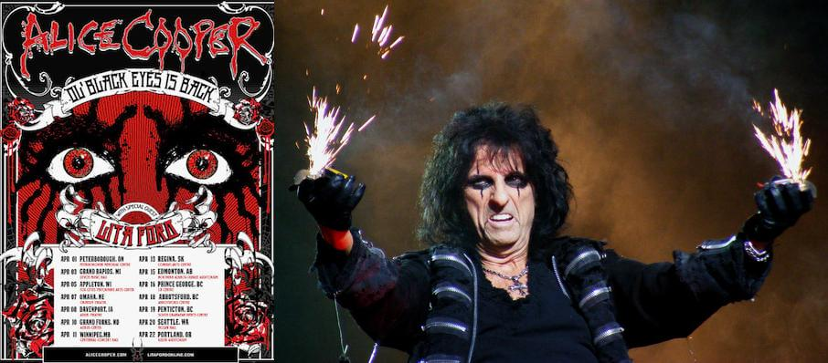 Alice Cooper at Pavilion at the Music Factory