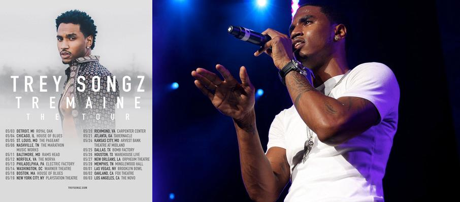 Trey Songz at The Bomb Factory