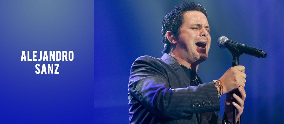 Alejandro Sanz at Pavilion at the Music Factory