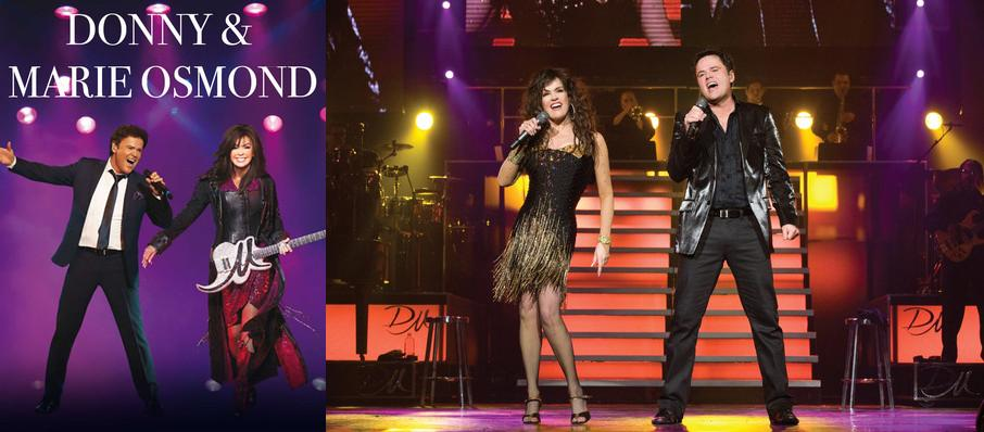 Donny and Marie Osmond at Verizon Theatre