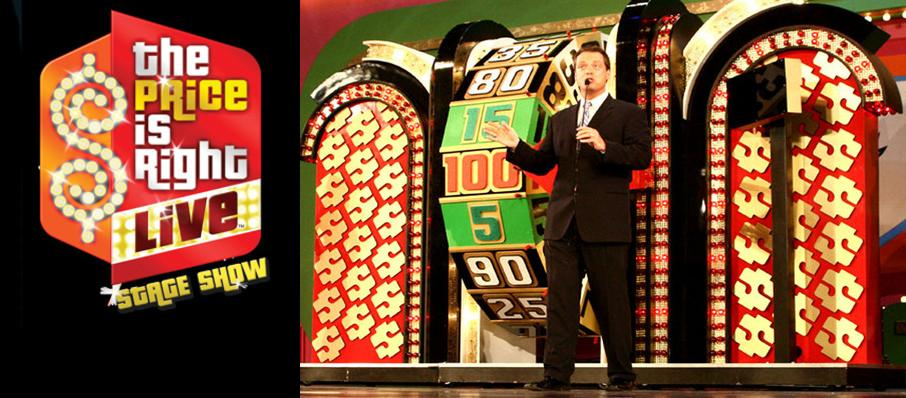 The Price Is Right - Live Stage Show at Verizon Theatre