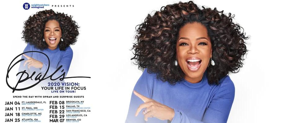 Oprah Winfrey at American Airlines Center