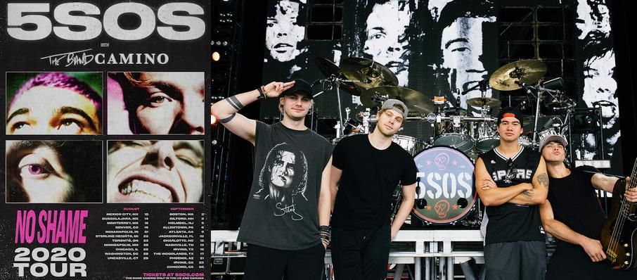 5 Seconds of Summer at Pavilion at the Music Factory