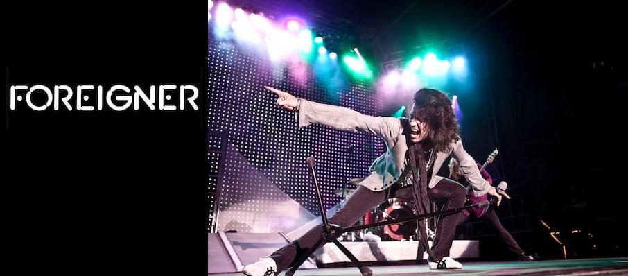 Foreigner at Pavilion at the Music Factory