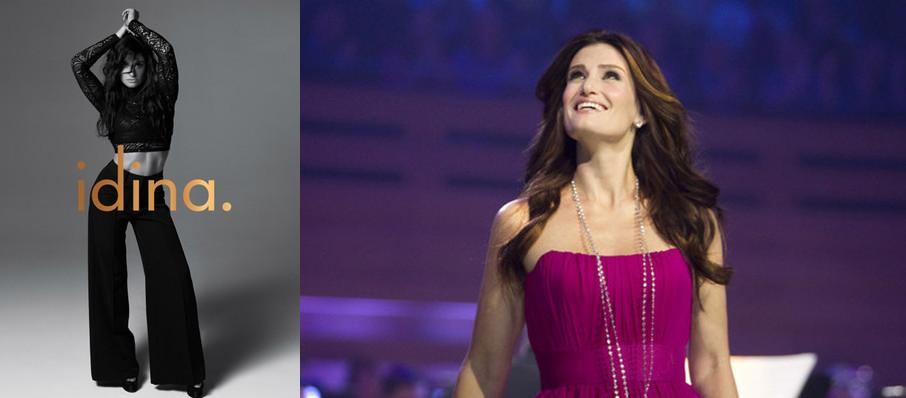 Idina Menzel at Verizon Theatre