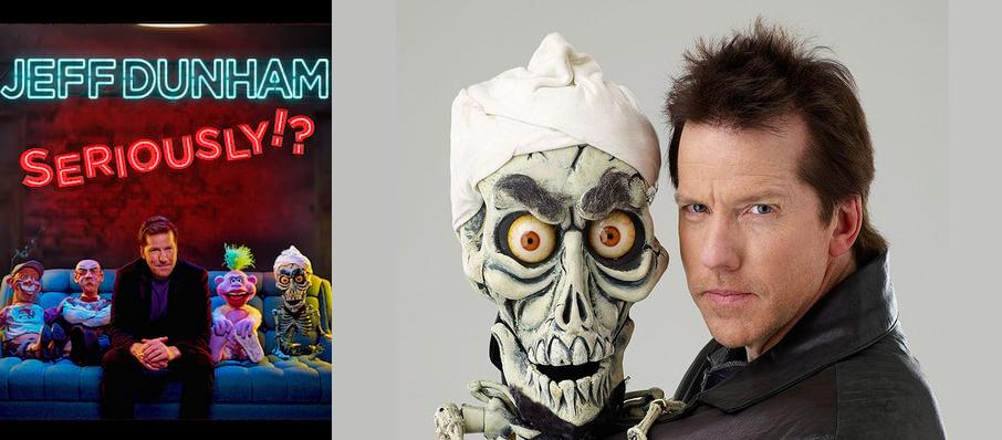 Jeff Dunham at American Airlines Center