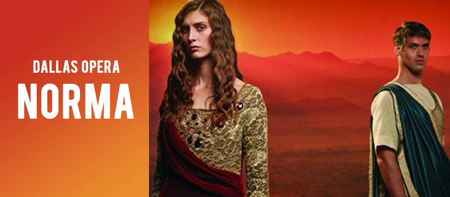 Dallas Opera: Norma at Winspear Opera House