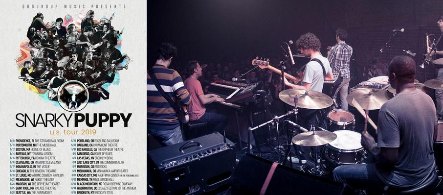 Snarky Puppy at The Bomb Factory