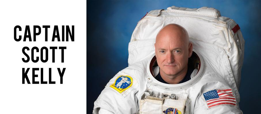 Captain Scott Kelly at Winspear Opera House