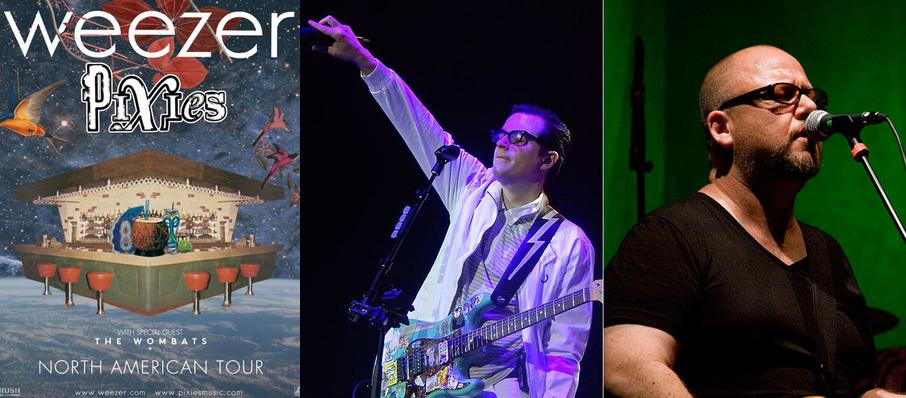 Weezer and Pixies at Gexa Energy Pavilion