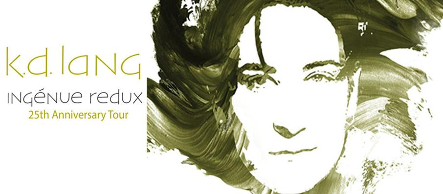 K.D. lang at Mcfarlin Auditorium