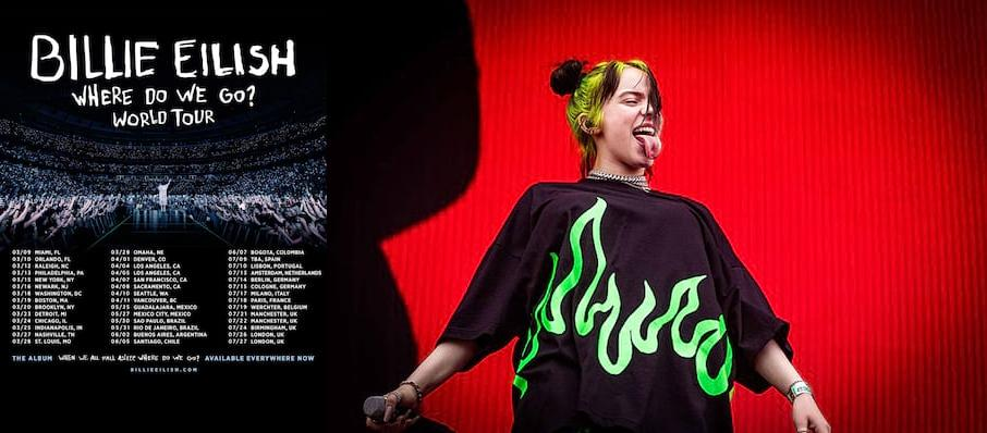Billie Eilish at American Airlines Center