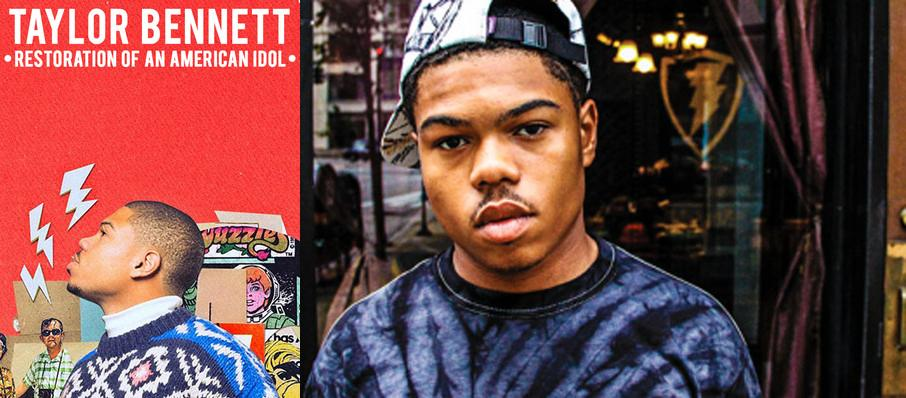 Taylor Bennett at House of Blues