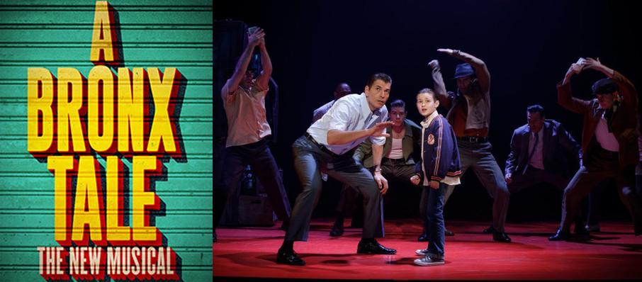 A Bronx Tale at Winspear Opera House