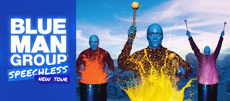 Blue Man Group at Winspear Opera House