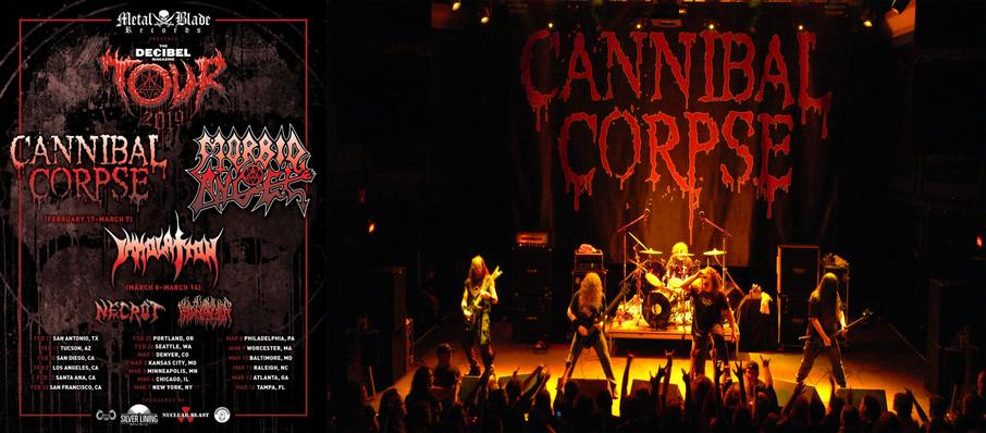 Cannibal Corpse at Gas Monkey Live