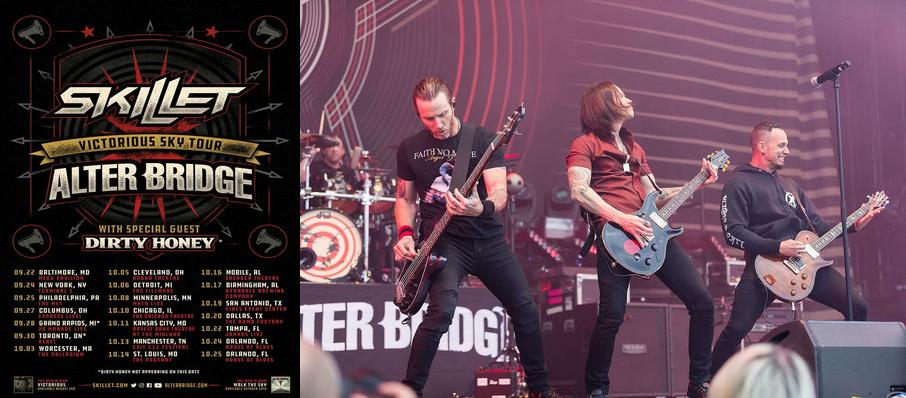 Alter Bridge and Skillet at The Bomb Factory