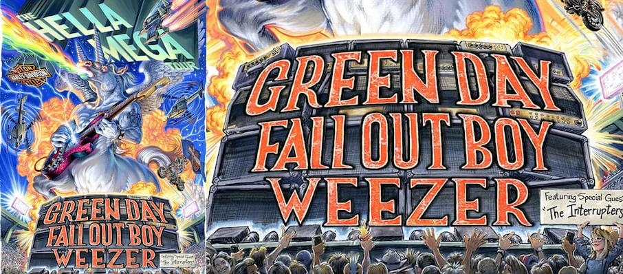 Green Day with Fall Out Boy and Weezer at Globe Life Field
