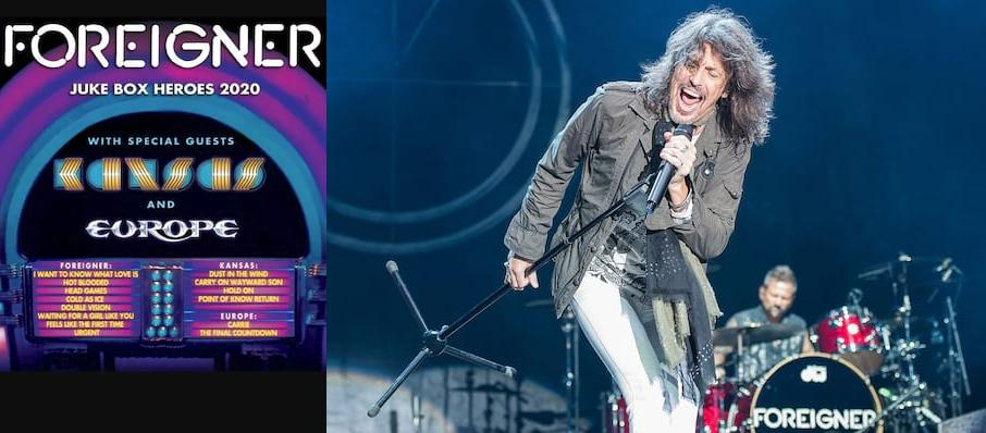 Foreigner with Kansas at Dos Equis Pavilion