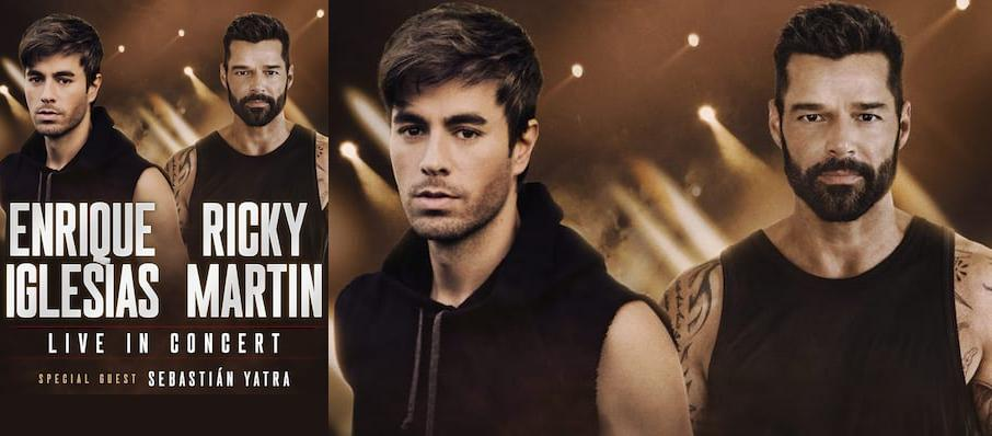 Enrique Iglesias and Ricky Martin at American Airlines Center