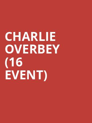 Charlie Overbey (16+ Event) at Gas Monkey Bar n Grill