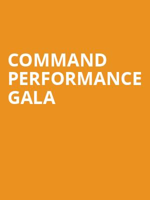 Command Performance Gala at Winspear Opera House