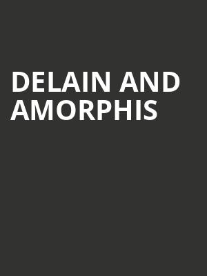 Delain and Amorphis at Trees
