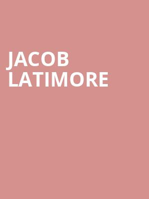 Jacob Latimore at The Prophet Bar