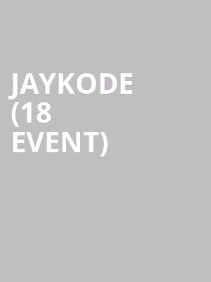 JayKode (18+ Event) at Stereo Live Dallas