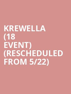 Krewella (18+ Event) (Rescheduled from 5/22) at Stereo Live Dallas