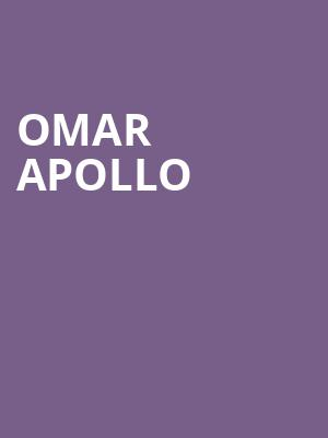 Omar Apollo at Canton Hall