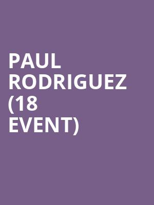 Paul Rodriguez (18+ Event) at Addison Improv Comedy Club