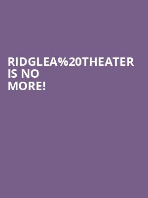 Ridglea Theater is no more