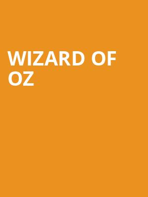 Wizard Of Oz at Geppettos' Theater
