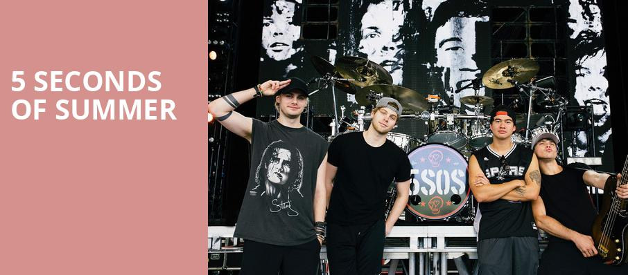 5 Seconds of Summer, Pavilion at the Music Factory, Dallas