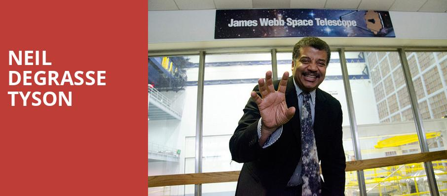 Neil DeGrasse Tyson, Winspear Opera House, Dallas