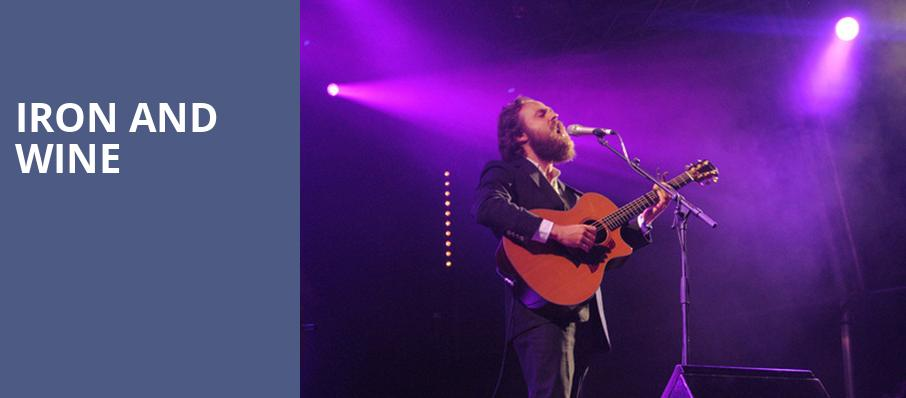 Iron and Wine, The Kessler, Dallas