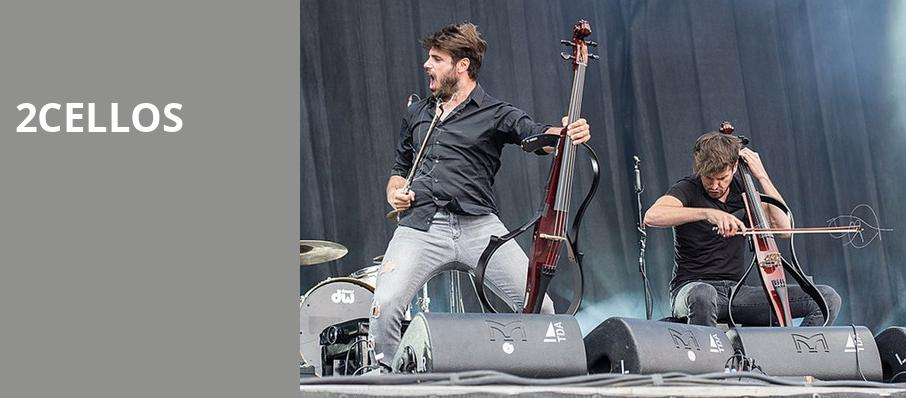 2Cellos, Pavilion at the Music Factory, Dallas