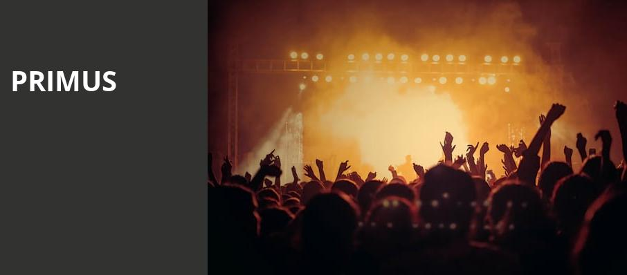 Primus, South Side Ballroom, Dallas