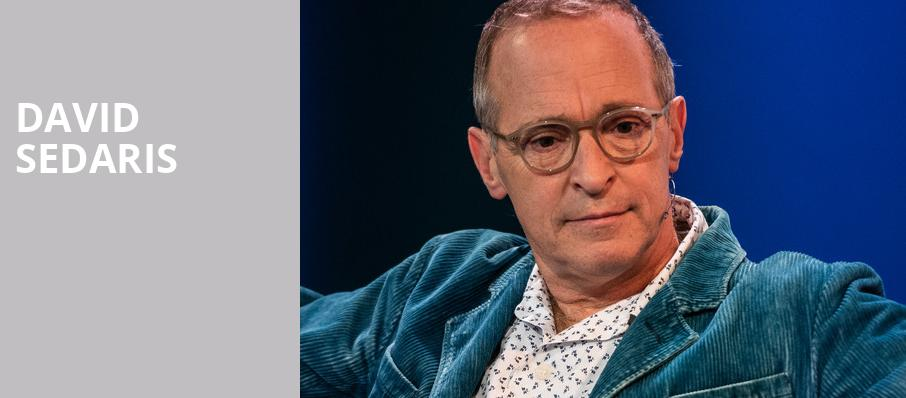 David Sedaris, Dallas Museum Of Art, Dallas