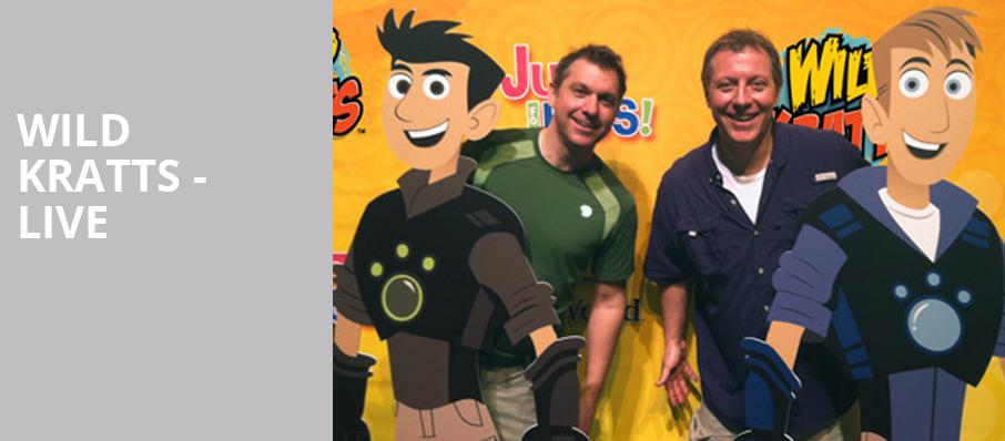 Wild Kratts Live, Majestic Theater, Dallas