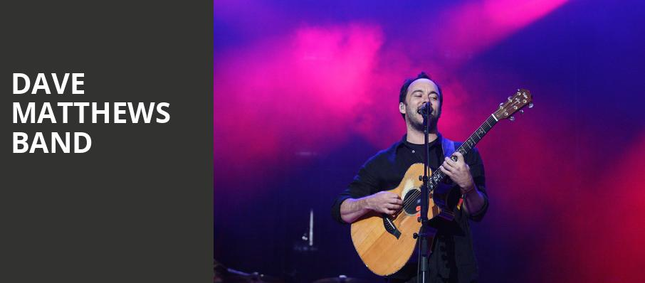 Dave Matthews Band, Gexa Energy Pavilion, Dallas