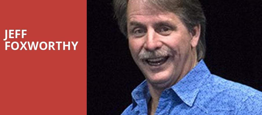 Jeff Foxworthy, Pavilion at the Music Factory, Dallas