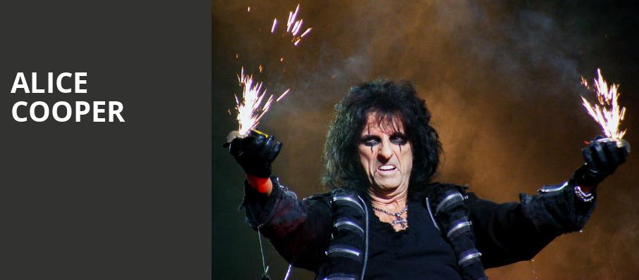 Alice Cooper, Pavilion at the Music Factory, Dallas
