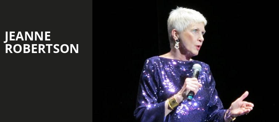 Jeanne Robertson, Winspear Opera House, Dallas