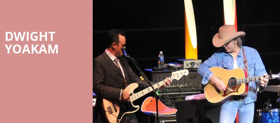 Dwight Yoakam, The Bomb Factory, Dallas