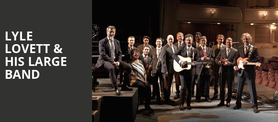 Lyle Lovett His Large Band, Winspear Opera House, Dallas