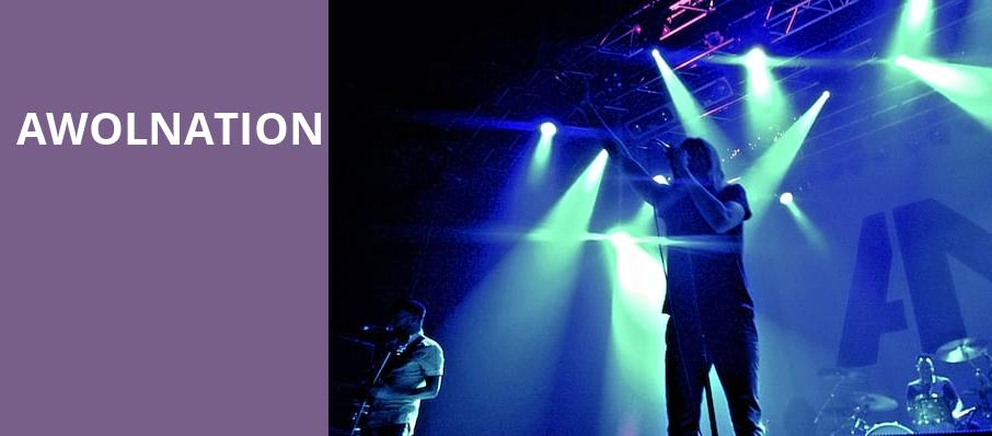 Awolnation, Pavilion at the Music Factory, Dallas